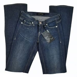 NWT Guido & Mary Anthony Boot Cut Jeans Dark Wash